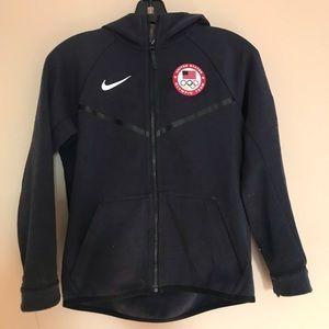 Boys Nike Olympic Team USA Medium M Hoody